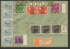 all. Bes. R-Brief 10fach alte und neue Währung Traunstein  (23488)