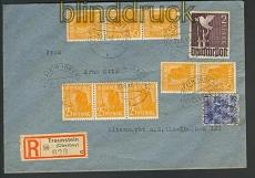 all. Bes. R-Brief 10fach alte und neue Währung Traunstein  (23481)