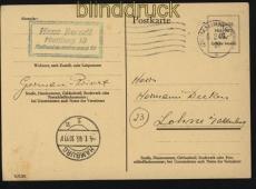 all. Besetzung Behelfsausgaben GSK P 697 gelaufen Hamburg 5.2.1946 (31821)