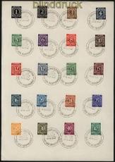 all. Besetzung fast komplett auf Vorlageblätter SSt. Neumünster 1947 (31600)