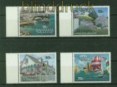 Bahamas Mi #  871/74 Tourismus postfrisch (35533)