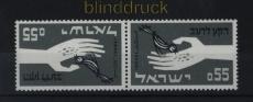 Israel Mi # 282 K Kehrdruckpaar postfrisch (33564)