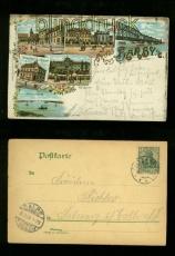 BARBY farb-Litho-AK sechs Ansichten 1906 (d6681)