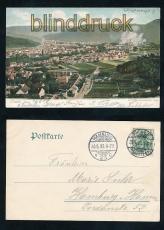 THALE Harz farb-AK Totalansicht 1906 (d7270)