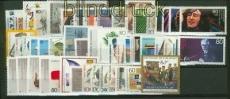 Bund 1988 kompletter postfrischer Jahrgang (34786)