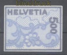 Schweiz Mi # 1726 Stickereimarke postfrisch (46193)