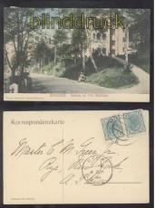 Marienbad farb-AK Aufgang zur Villa Waldidylle 1905 (a2204)