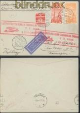 Dänemark Luftpostruten Bergen-Trondheim-Tromso 1935 (46486)