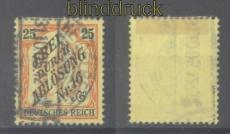 dt. Reich Dienst Mi #  14 gestempelt geprüft Jäschke-Lantelme BPP (46234)