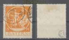 Bayern Mi # 193 gestempelt geprüft Dr. Helbig BPP (46608)
