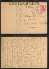 dt. Reich Mi # 86 II Auf Postkarte mit US-Zensur Coblenz 4.2.1919 (46941)