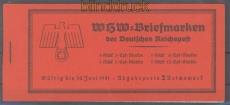 dt. Reich Markenheftchen Mi # 47 postfrisch WHW 1940 Bauwerke (47128)