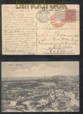 Italien Genova sw-AK Auslands-Zensur-Karte Bologna Posta Esterea 1915 (47168)