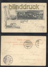 Kreuzlingen sw-AK Gruss aus .... drei Ansichten 1903 (a2236)