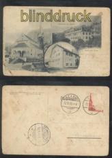 Stans sw-AK Gruss aus .... drei Ansichten 1905 (a2235)