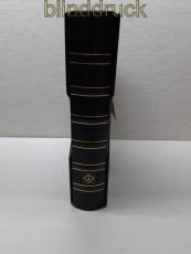 Leuchtturm schwarzer Classik-Ringbinder mit Kassette (48473)