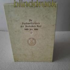 DDR Ersttagsblatt-Jahressammlungen 1985/1990 komplett in Sammelbox (50135)