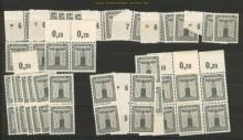 dt. Reich Dienst Mi # 155 (45) 1 Pfg. ohne Wz.**(21796)