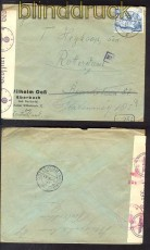 dt Reich Mi # 742 Auslands-Zensur-Brief 9.9.1940(10636)