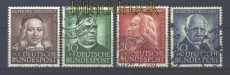 Bund Mi #  173/76 gestempelt Helfer der Menschheit 1953 (17069)