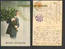 dt. Reich Bahnpost Bentheim-Emlichheim Zensur 26.??.1915 (d3800)