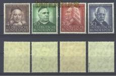 Bund Mi #  173/76 postfrisch Helfer der Menschheit 1953 geprüft Schlegel BPP (17425)