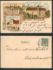 Wittenberg farb-Litho-AK 3 Ansichten 9.9.99 (d4817)