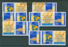 DDR Zusammendrucke Mi # 1575/76 postfrisch WZd 221/226 Brotkongress (26382)