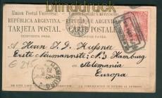 Argentinien GSK P 3 Stempel !!! 1886 (27090)