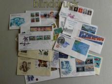 Marschall-Inseln 49 Ersttatgsbriefe FDC der Jahre 1985 bis 1989 (29347)