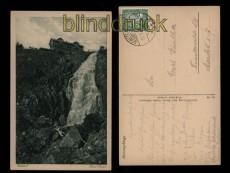 Elbfall sw-AK von Karl Streer Angetendorf 1925 (a0956)