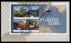 Australische Gebiete Antarktis Mi # Block 5 auf FDC Ersttagsbrief (31573)