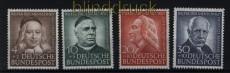 Bund Mi #  173/76 postfrisch Helfer der Menschheit 1953 (31662)