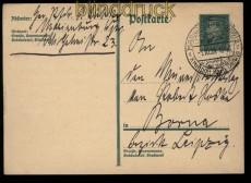 dt. Reich GSK SSt. Marienburg (Westpr) Kraftpost nach Danzig 1929 (32218)