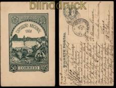Brasilien GSK Weltausstellung 1908 gelaufen (32327)