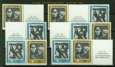 DDR Zusammendrucke Mi # 1680/81 postfrisch WZd 248/53 Widerstandskämpfer (40710)