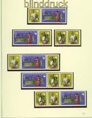 DDR Zusammendrucke Mi # 1478/80 postfrisch WZd 204/09 Weltfriedenstreffen (34410)