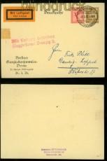 dt. Reich Privat-GSK PP 90 C 1 Berlin Zentralflughafen 8.5.1926 nach Danzig (40179)