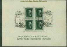 dt. Reich Mi # Block  9 gestempelt Kulturförderung Sonderstempel (40158)