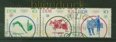 DDR Zusammendrucke Mi # 1039/44 gestempelt WZd 132 Sonderstempel (34957)