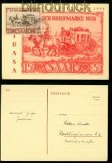 Saarland Mi # 291 Tag der Briefmarke Maximumkarte SSt. FDC (42013)