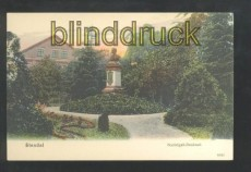 STENDAL farb-AK Nachtigall-Denkmal ungebraucht (d6888)