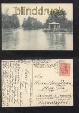 MITTWEIDA sw-AK Schwanenteich 1918 (d7025)