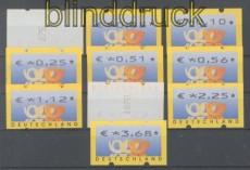 Bund ATM 2002 Mi # 4.1 Versandstellensatz 1 postfrisch (43299)