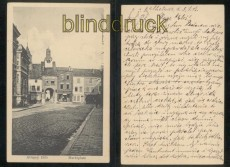 Attigny sw-AK Marktplatz 1915  (a2129)
