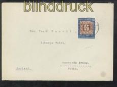 Bund Mi #  115 Einzelfranbkatur EF auf Auslandsbrief Hannover 1950 (44259)
