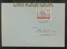 Generalgouvernement Mi # 116 auf Ersttagsbrief FDC SSt. Krakau 26.10.1943 (43154)
