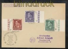 Generalgouvernement Mi # 117/19 auf Ersttagsbrief FDC SSt. Krakau 20.4.1944 (43156)