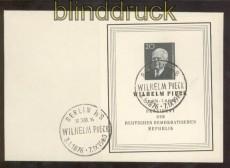 DDR Mi # Block  16 auf Ersttagsbrief Sonderstempel (44724)