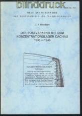 Mozdzan: Der Postverkehr mit dem Konzentrationslager Dachau 1933 - 1945 (70116)